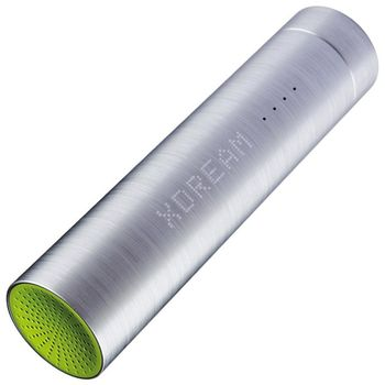Xdream X-Power Plus záložní baterie s reproduktorem, 3000 mAh, zelená
