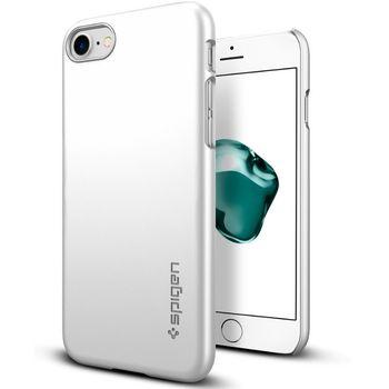 Spigen ochranný kryt Thin Fit pro iPhone 7 plus, stříbrná