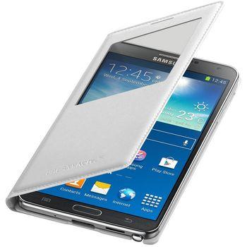 Samsung flipové pouzdro S-view EF-CN900BW pro Note 3 bílé, rozbaleno