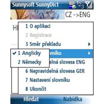 Sunnysoft Dictionary Smarthpone