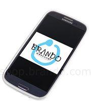Pouzdro měkké plastové Brando - Samsung Galaxy S III i9300 (bílá)