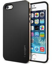 Spigen pouzdro Neo Hybrid metal slate pro Apple 5/5S, zlato-černá