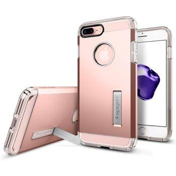 Spigen ochranný kryt Tough Armor pro iPhone 7 plus, růžová