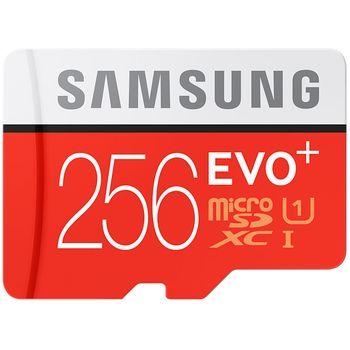 Samsung Micro SDHC 256GB EVO Plus + SD adaptér