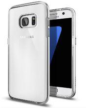 Spigen pouzdro Neo Hybrid Crystal pro Galaxy S7 , stříbrné