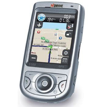 NDrive S300 - PDA s navigací a mapami CZ,PL,SK,HU,SL,Chorv, záruka 1rok