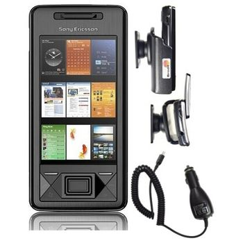 Sony Ericsson Xperia X1 4GB En Car Pack