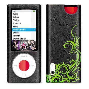 iLuv iCC312 kožené pouzdro iPod nano 5g. černé