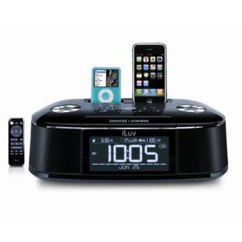 iLuv iMM173 audio systém 2x dock  iPod/iPhone