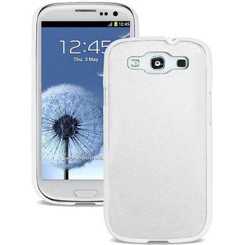 PURO pevný kryt Metal Cover pro Samsung Galaxy S III - bílý
