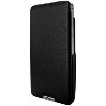 Piel Frama pouzdro pro Huawei Ascend P6 iMagnum, Black