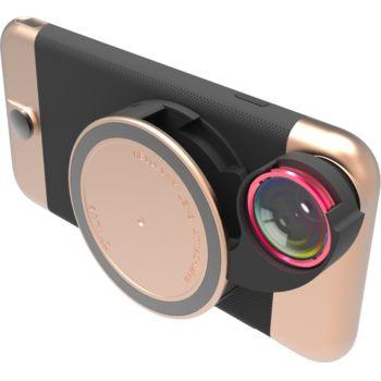 Ztylus Revolver Metal sada objektivů pro iPhone 6S/6, růžovozlatý