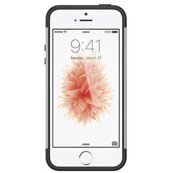Spigen pouzdro Slim Armor pro iPhone SE/5s/5, stříbrná