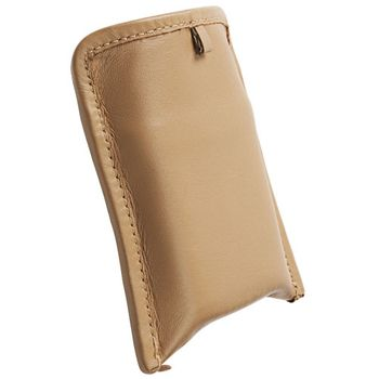Krusell pouzdro Lund Pouch S - Sony Ericsson XPERIA Active/Mini/Mini Pro  93x55x18 mm  (béžová)