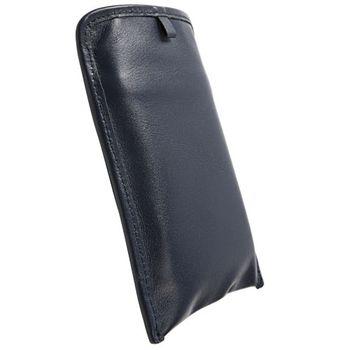 Krusell pouzdro Lund Pouch XL - Sony Ericsson XPERIA Neo/Play/Pro  119x62x16 mm  (modrá)