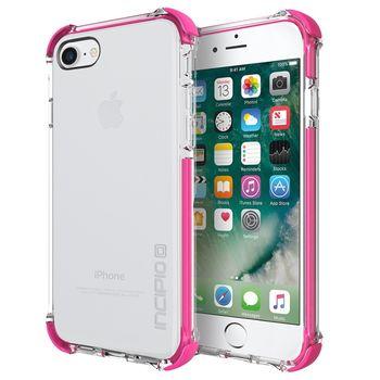 Incipio ochranný kryt [Sport Series] Reprieve Case pro Apple iPhone 7, průhledná/růžová