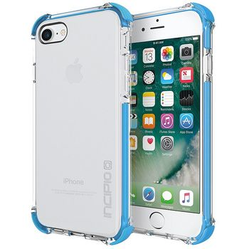 Incipio ochranný kryt [Sport Series] Reprieve Case pro Apple iPhone 7, průhledná/azurová