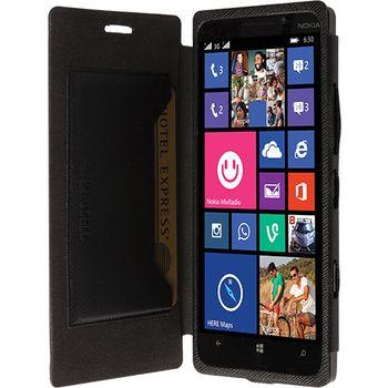 Krusell pouzdro FlipCover Malmö - Nokia Lumia 930, černá