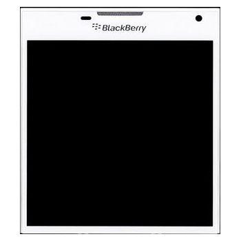 Náhradní díl LCD Display + Dotyková deska + přední kryt BlackBerry Q30 bílá