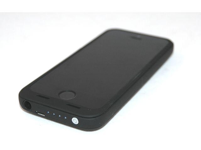 obsah balení Záložní baterie pro iPhone 5/5S, 2500mAh, černá + PanzerGlass sklo pro Apple iPhone 5/5S/5C
