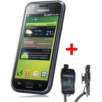 Samsung Galaxy S i9000 + Brodit držák s nabíjením 12/24V
