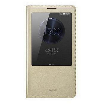 Huawei flipové pouzdro S-View pro Mate S, zlaté