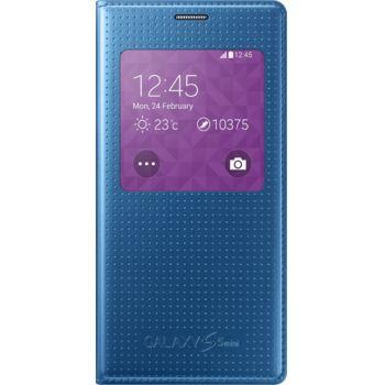 Samsung flipové pouzdro S-View EF-CG800BE pro Galaxy S5 mini, modré