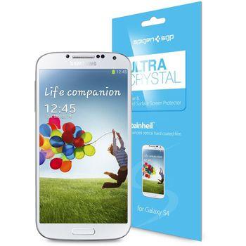 Spigen Crystal fólie pro Galaxy S4
