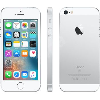 Apple iPhone SE 64GB, stříbrný