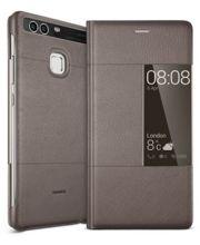 Huawei flipové pouzdro S-View pro P9, hnědé
