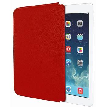 Piel Frama pouzdro pro iPad Air Unipur, Red, kvalitní kůže, ruční výroba, španělská manufaktura