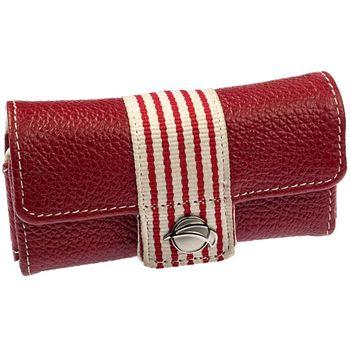 Krusell pouzdro Breeze M - Nokia 6303, X3, SE Zylo, Vivaz, W995 104x51x19mm (červená/bílá/červená)