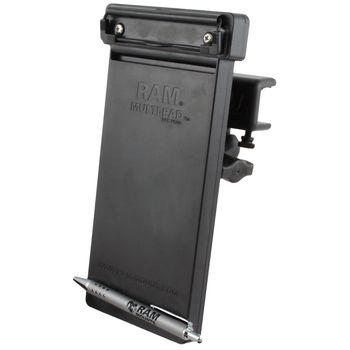 RAM Mounts držák na zápisník Multi-pad organizer s krátkým ramenem na desku o tloušťce 4,4 - 28,0 mm, sestava RAM-B-177-MP1U