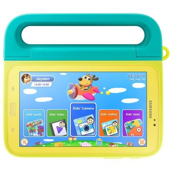 """Samsung dětský držák na tablet EF-KT230BC pro Tab 4 7"""", zelené"""