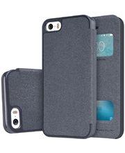 Nillkin flipové pouzdro Sparkle S-View pro iPhone 5/5S/SE, černé