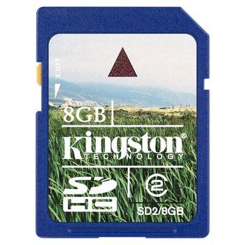 Kingston SDHC 8GB Class 4 paměťová karta (Secure Digital)