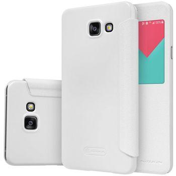 Nillkin flipové pouzdro Sparkle S-View pro Samsung Galaxy A5 (2016), bílé