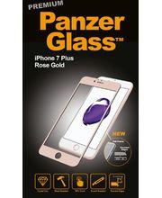 PanzerGlass ochranné premium sklo pro Apple iPhone 7 plus, růžová