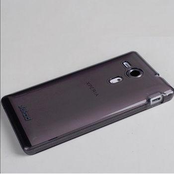 Jekod TPU silikonový kryt Sony Xperia Miro, černá