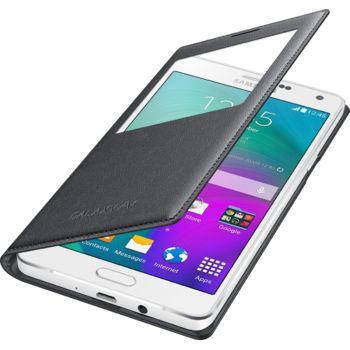 Samsung flipové pouzdro S-View EF-CA700BC pro Galaxy A7, černá