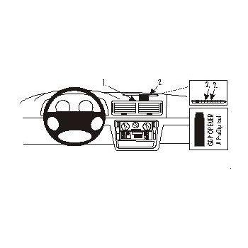Brodit ProClip montážní konzole pro Volkswagen Passat 97-05, zesílený, na střed