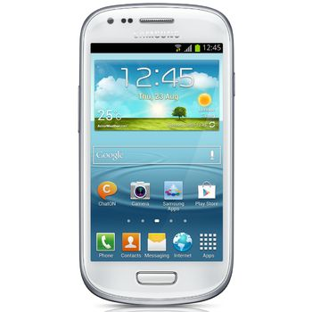 Galaxy S III Mini NFC bílý + držák s nabíjením Brodit