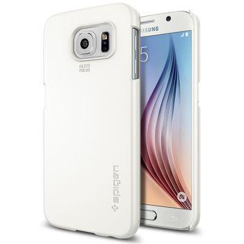 Spigen pouzdro Thin Fit pro Samsung Galaxy S6, bílá