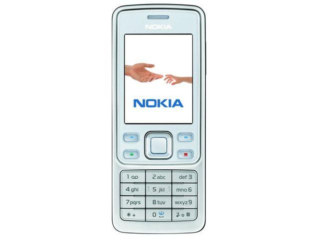 obsah balení NOKIA 6300 White 512MB + náhradní baterie 750mAh