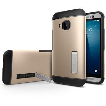 Spigen pouzdro Slim Armor pro HTC One M9, zlatá
