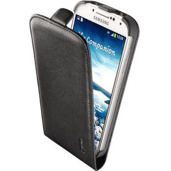 Artwizz kožené FLIP PLUS pouzdro pro Samsung Galaxy S4 - matná černá