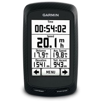 Garmin Edge 800 Black Bundle - TOPO Czech 2010 + Cyklo Czech 2010 NT