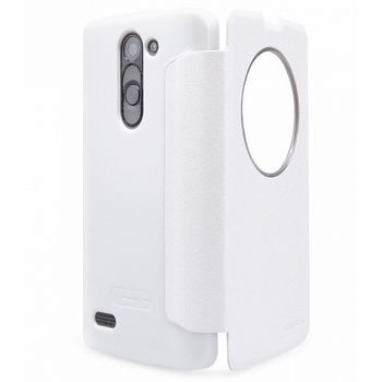 Nillkin Sparkle S-View Pouzdro pro LG D331 L Bello, bílý