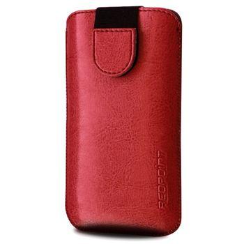 Redpoint pouzdro Soft Slim se zavíráním, velikost 4XL, červená