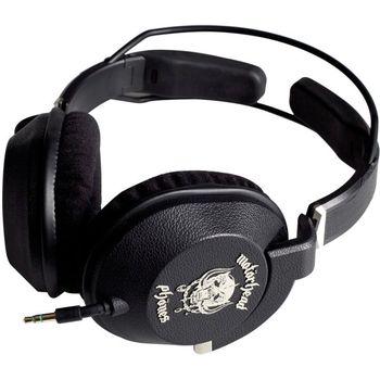 Motörhead náhlavní sluchátka - Iron Fist (černá)